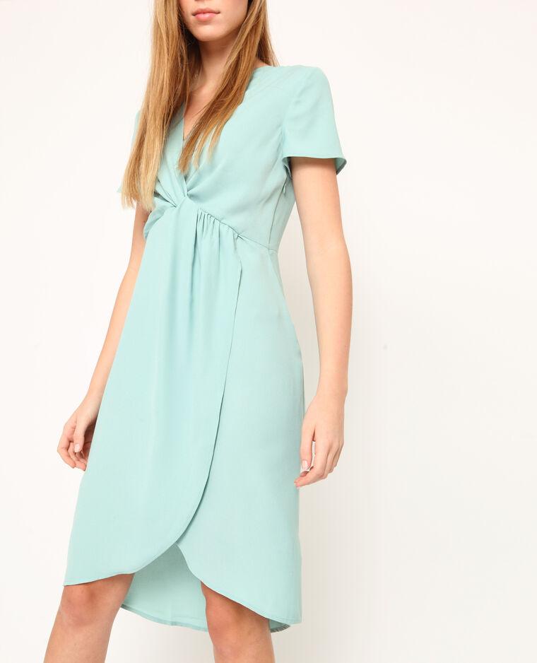 Halflange jurk watergroen