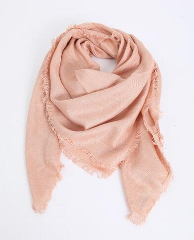 Vierkante foulard roze