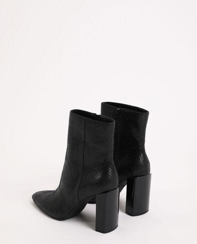 Boots à talons noir - Pimkie