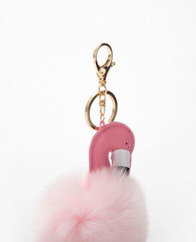 Sleutelhanger flamingo roze