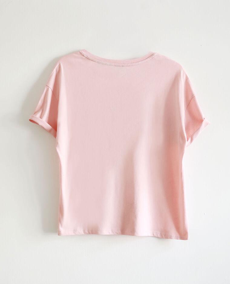 T-shirt Pink Floyd rose