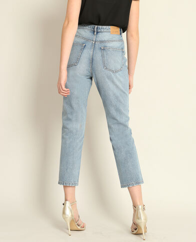 Mom jeans blauw