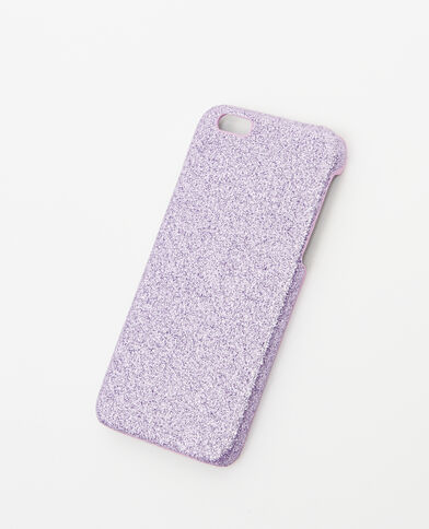 Coque glitter compatible Iphone 6/6S violet