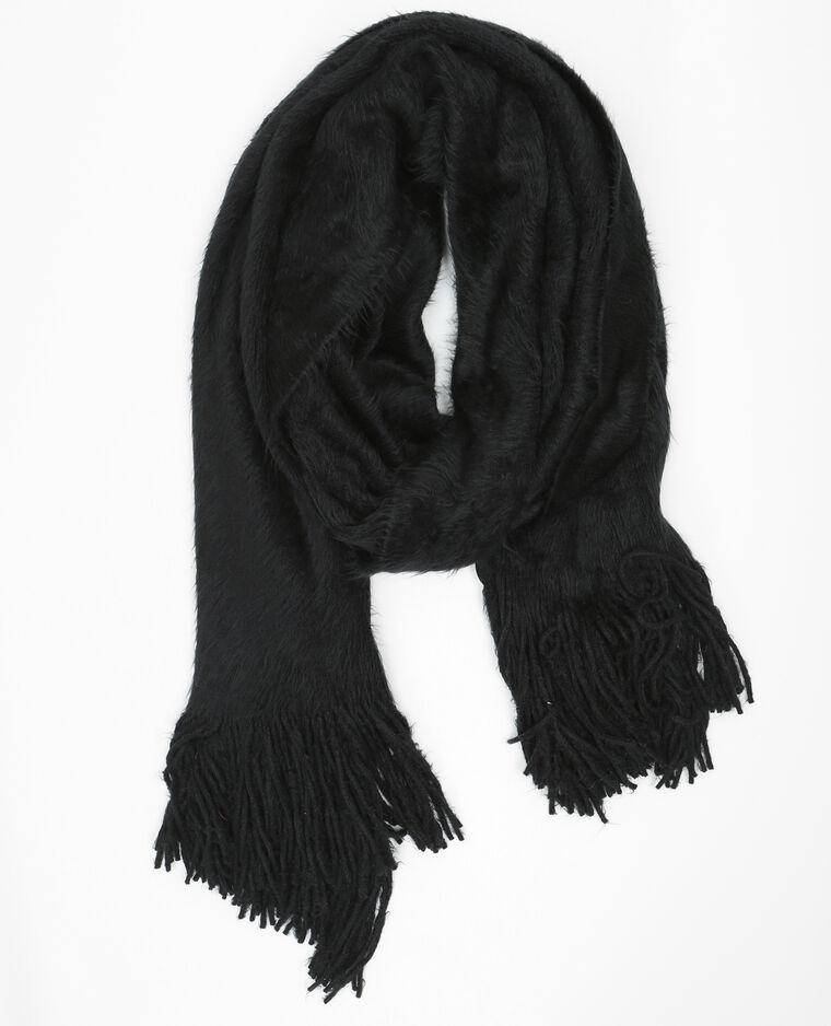 eb3fe991e8f58 Echarpe oversize duvet noir - 902049899A08   Pimkie