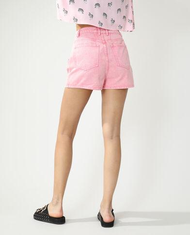 Short met hoge taille bleekroze - Pimkie