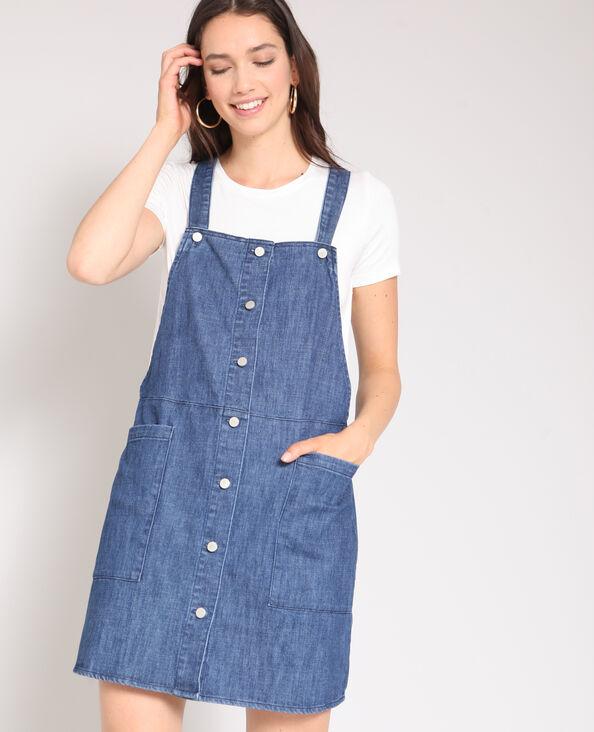 Korte spijkerjurk blauw