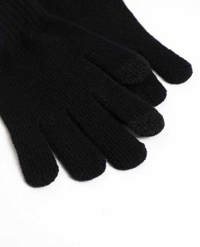 Touch-handschoenen voor smartphone zwart
