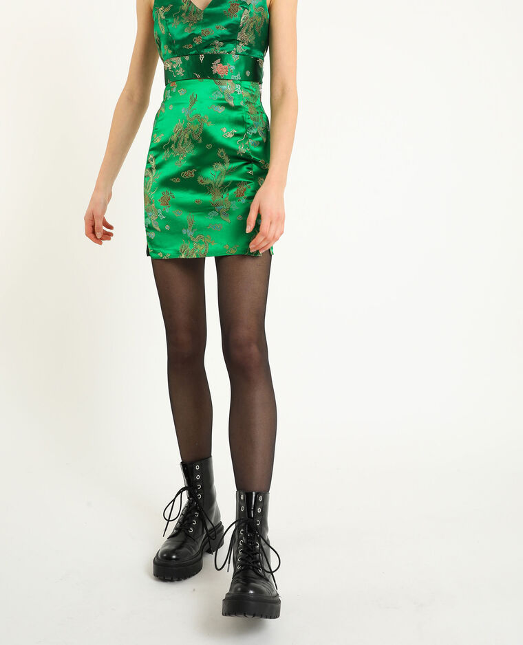 Korte rok groen
