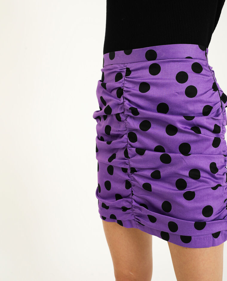 Gefronste rok violet - Pimkie