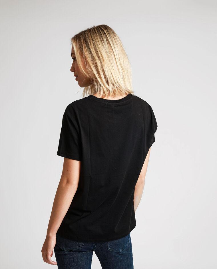 T-shirt David Bowie noir