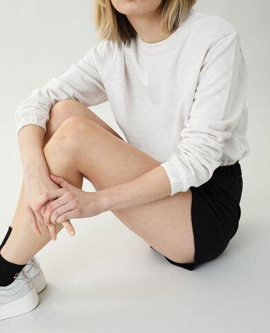 Korte sweater beige - Pimkie