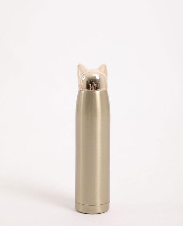 Gourde chat doré
