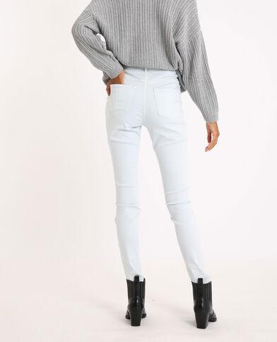Jean skinny high waist bleu ciel