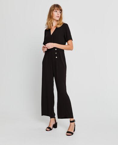 Combi-pantalon noir
