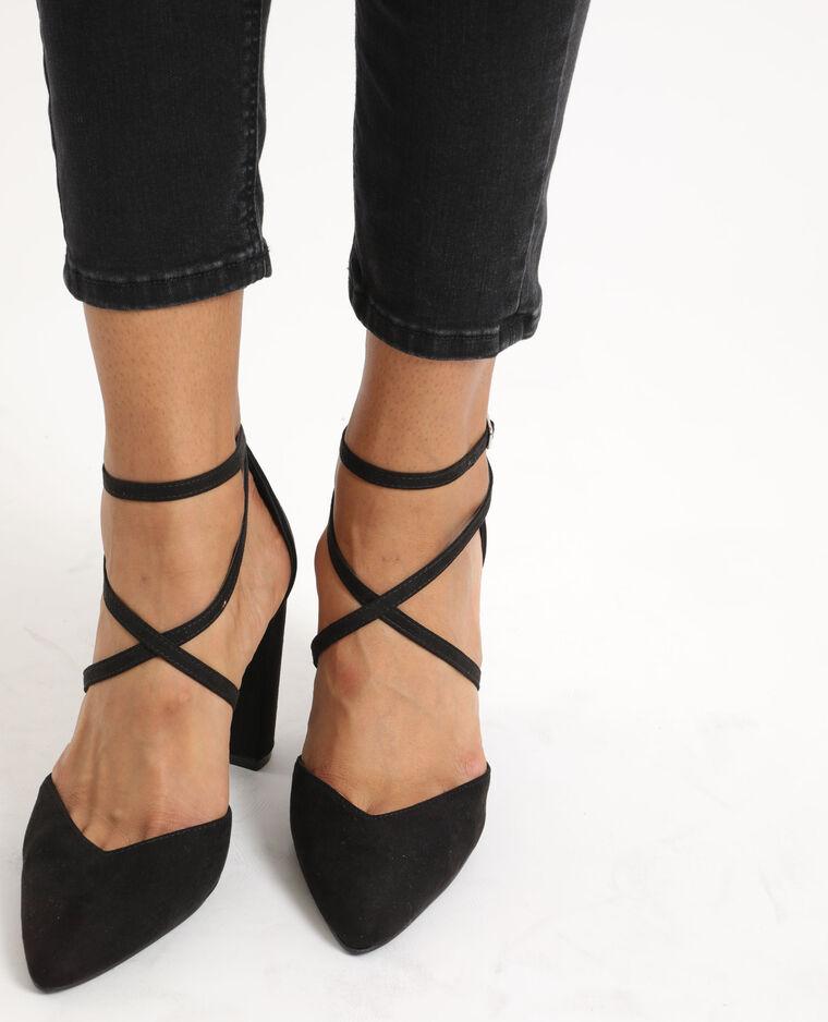 Escarpins à bouts pointus noir