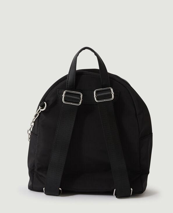 Mini-rugzak met ketting zwart - Pimkie