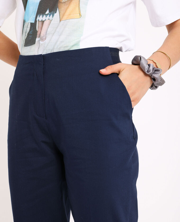 Pantalon city bleu marine