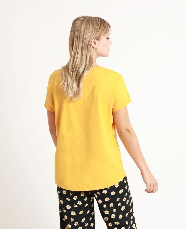 T-shirt imprimé cassonade