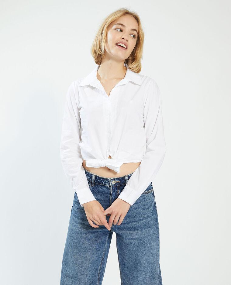 Chemise à nouer blanc - Pimkie