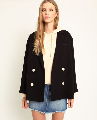 Korte jas zwart