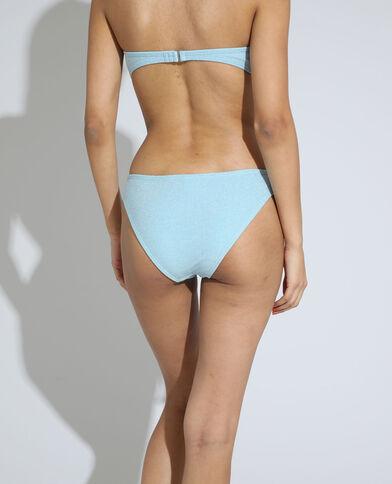 Bikinislip met glitters lichtblauw - Pimkie