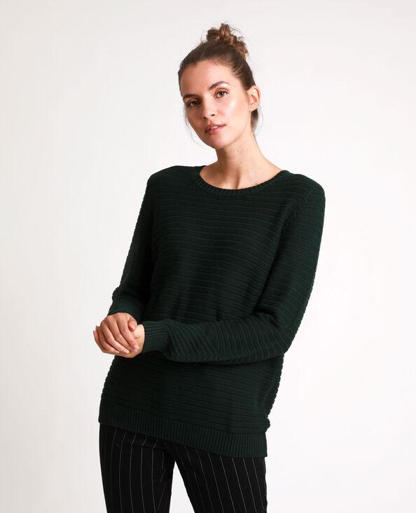 Dikke trui groen