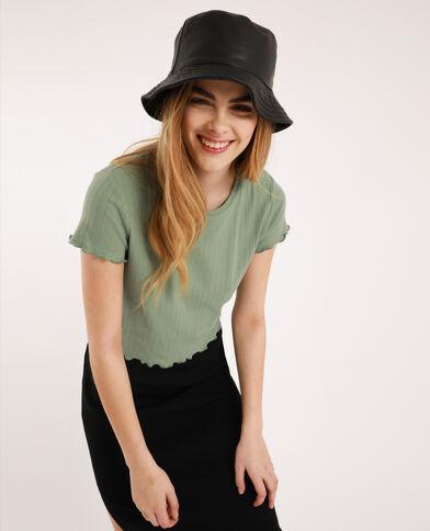 T-shirt cropped vert