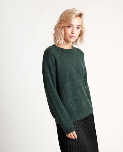 Effen trui groen