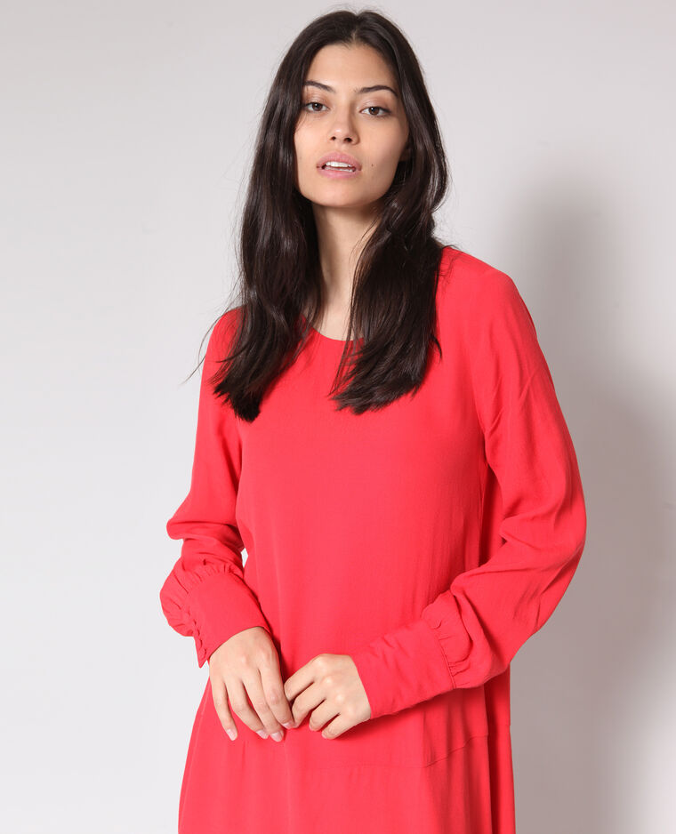 Robe fluide rouge