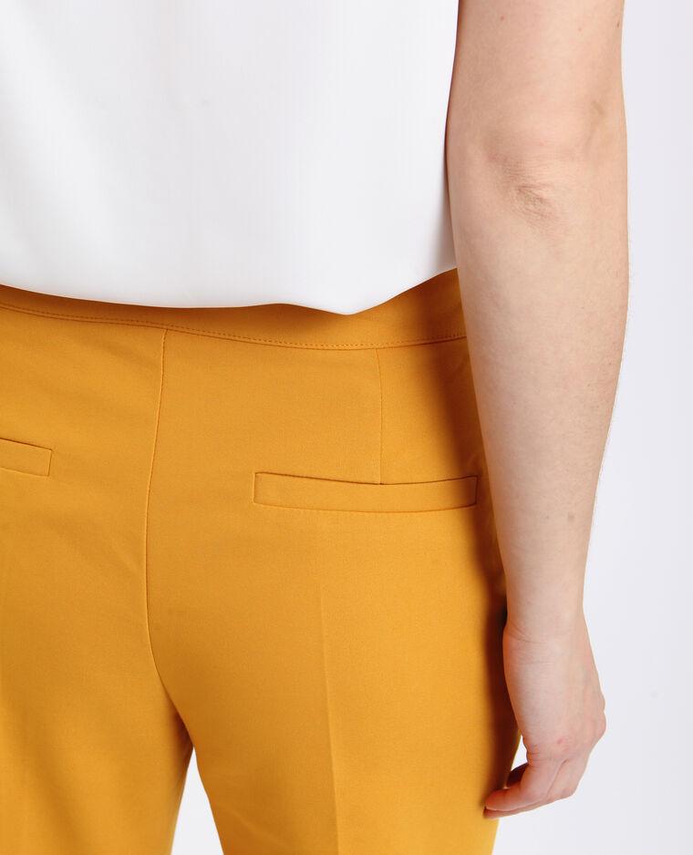 Pantalon city jaune