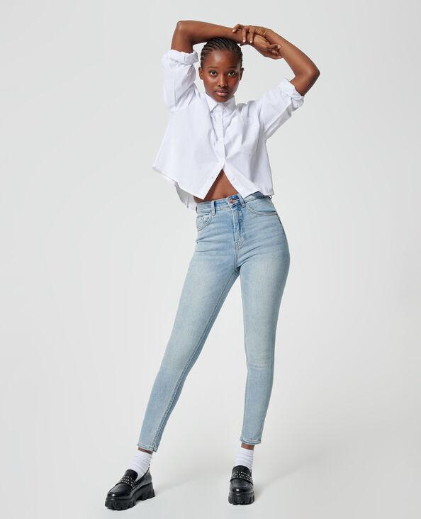 Skinny jeans Lichtblauw - Pimkie