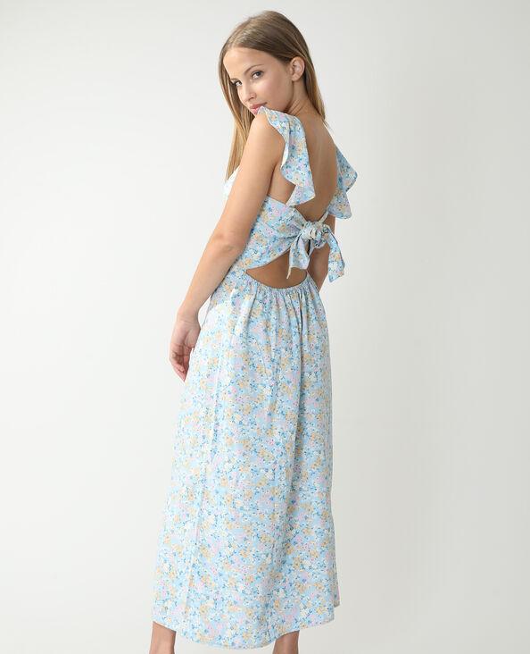 Lange jurk lichtblauw - Pimkie