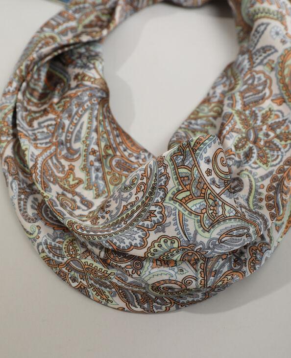 Sjaal met paisleymotief beige - Pimkie