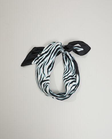 Sjaal met zebrastrepen zwart - Pimkie