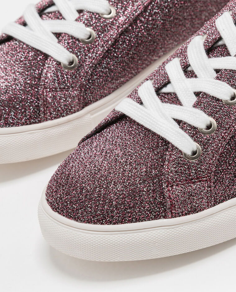 Baskets glitter rose