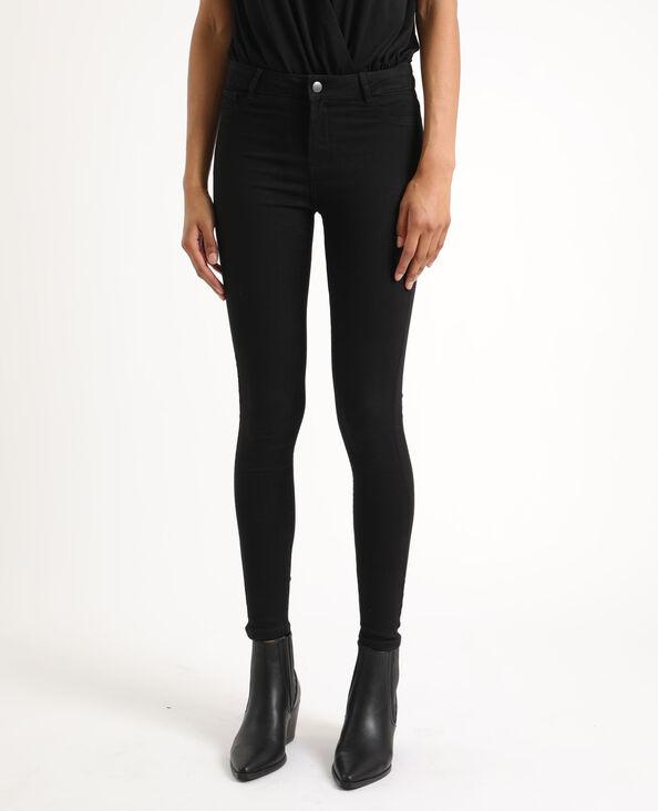 Jegging mid waist noir