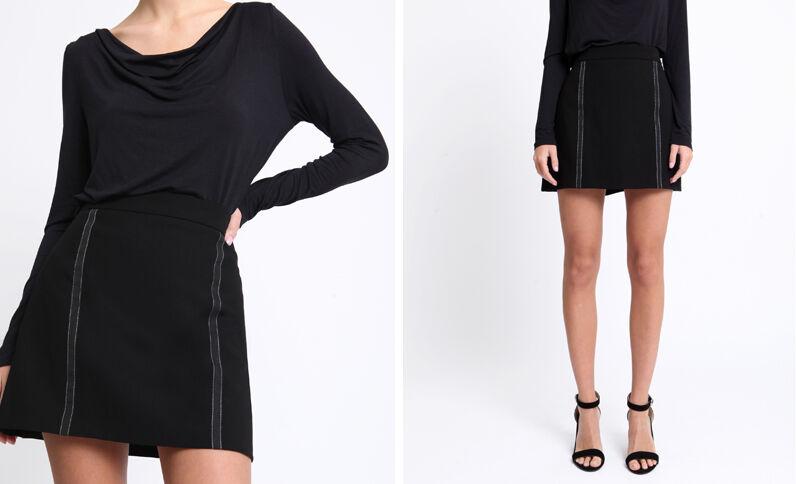 Korte rok zwart
