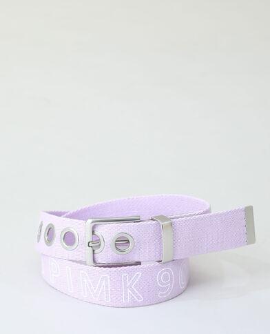 Katoenen riem violet