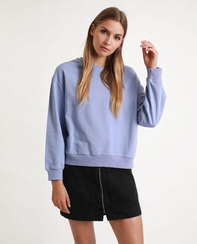 Basic sweater violet