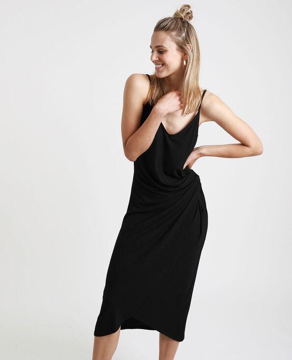 Robe nouée noir