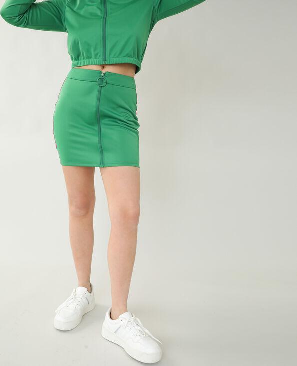 Jupe esprit jopping vert