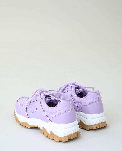 Baskets dad shoes violet