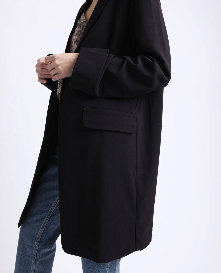 Veste longue noir
