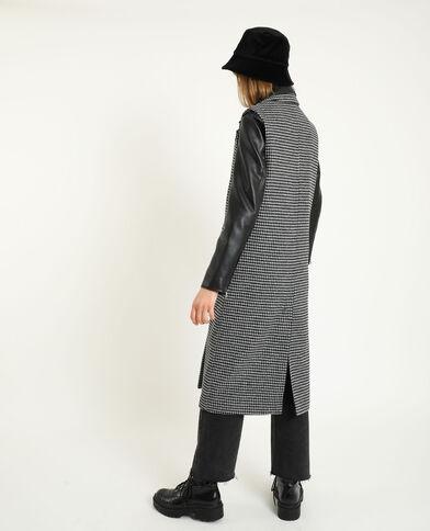 Manteau sans manche noir