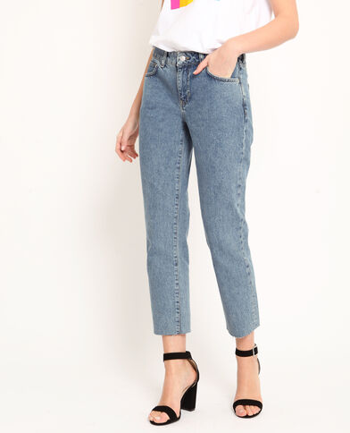 Jean straight bleu denim