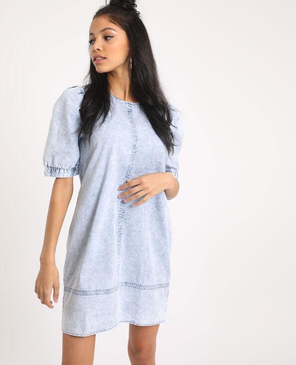 Acid wash jurk Lichtblauw