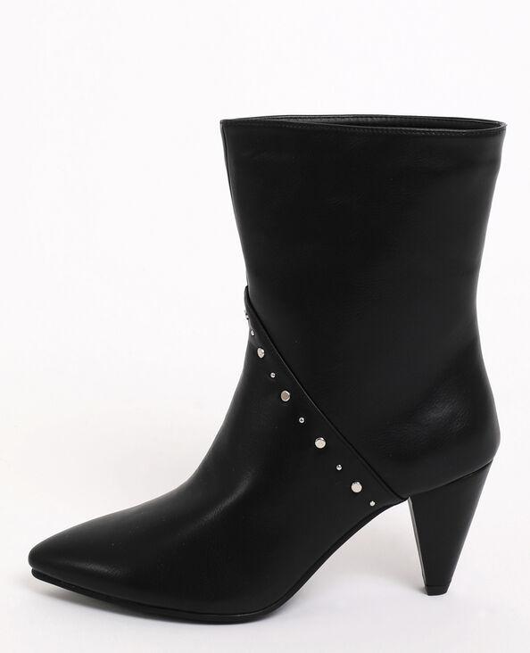 Boots met studs zwart