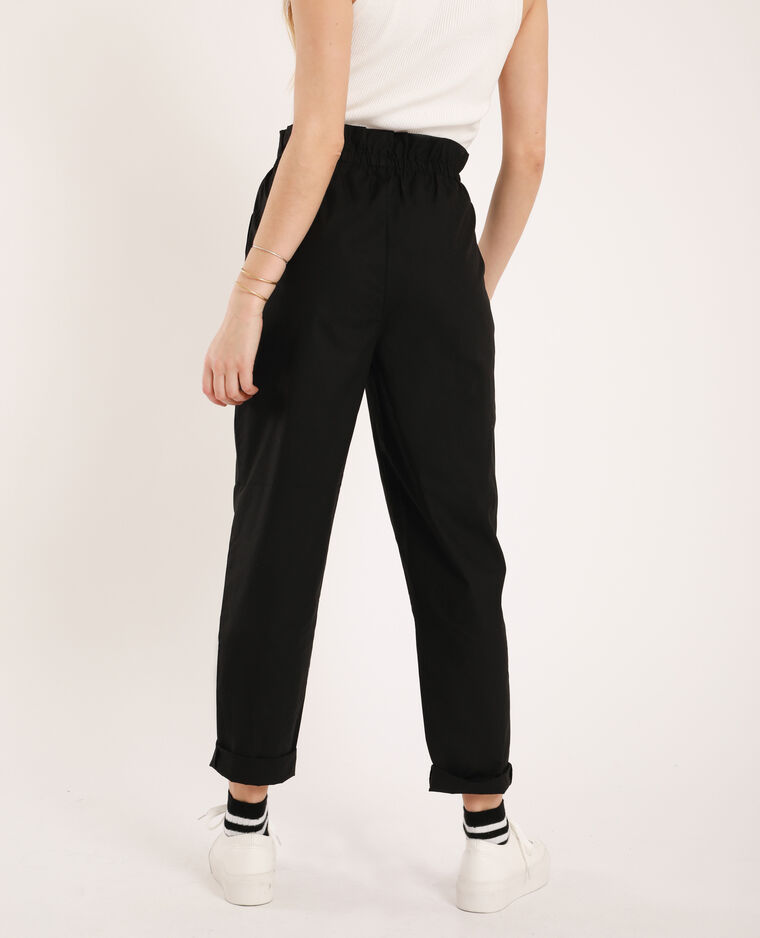 Pantalon sporty noir