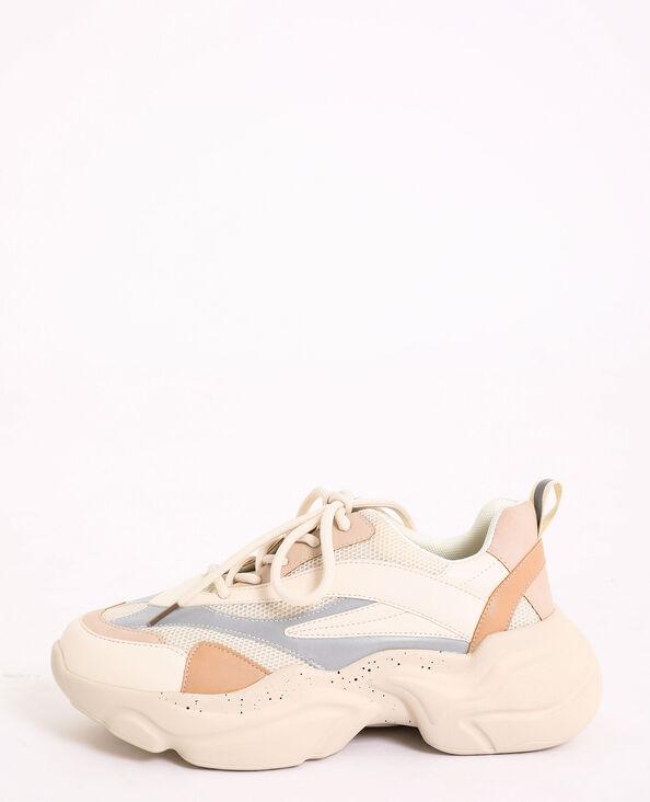 Kleurrijke sneakers wit