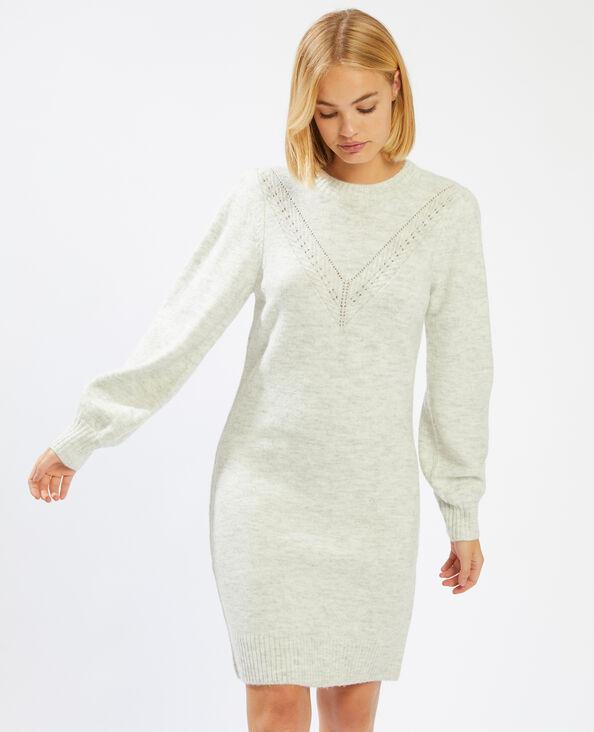Robe pull gris perle - Pimkie